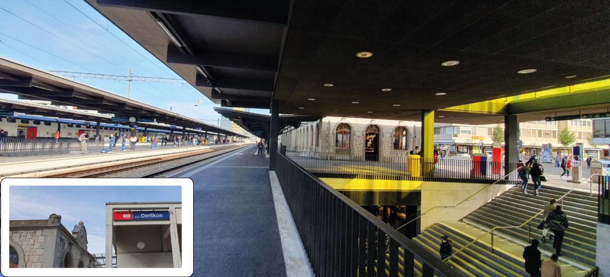 Anfahrt mit dem S-Bahn